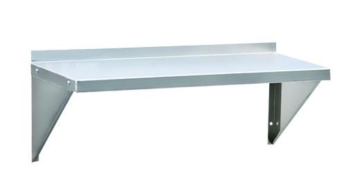 XWS13 - 12 Gauge Solid Wall Shelf, 12