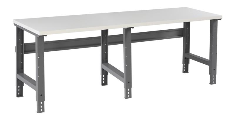 Amazing Laminate Top Workbench W Adjustable Height Legs 36 X 96 Bench Top Frankydiablos Diy Chair Ideas Frankydiabloscom