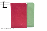 Clairefontaine Basic Life. Unplugged - Staplebound - 3.5 x 5 - Red & Green