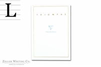 Clairefontaine Triomphe Stationery Tablet - 5.875in x 8.25in - Lined