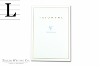 Clairefontaine Triomphe Stationery Tablet - 8.25in x 11.75in - Lined