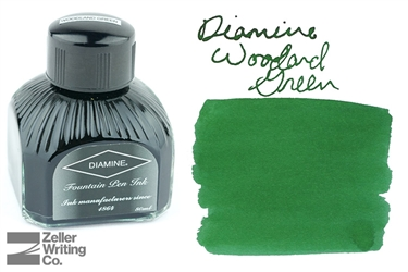 Diamine Woodland Green (80ml)