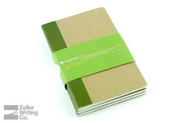 ForestChoice FSC Notebook 3-Pack - 3.5 x 5.5 - Lined