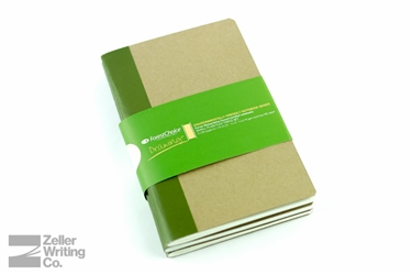ForestChoice FSC Notebook 3-Pack - 3.5 x 5.5 - Blank