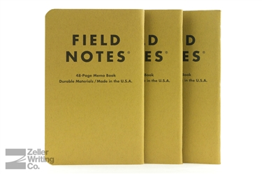 Field Notes 3-Pack - Left-Handed - Ruled