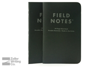 Field Notes 2-Pack - Pitch Black - Large - Dot-Graph