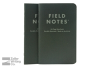 Field Notes 2-Pack - Pitch Black - Large - Ruled