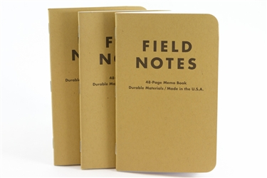Field Notes 3-Pack - Graph