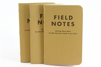 Field Notes 3-Pack - Blank