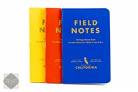 Field Notes 3-Pack - County Fair Edition - California