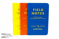 Field Notes 3-Pack - County Fair Edition - Maryland