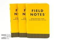 Field Notes 3-Pack - Utility - Graph