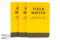 Field Notes 3-Pack - Utility - Ledger