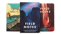 Field Notes 3-Pack - National Parks - Series A