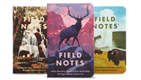 Field Notes 3-Pack - National Parks - Series C