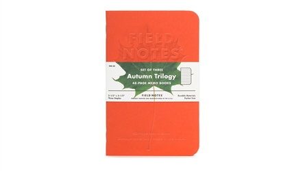Field Notes 3-Pack - Autumn Trilogy