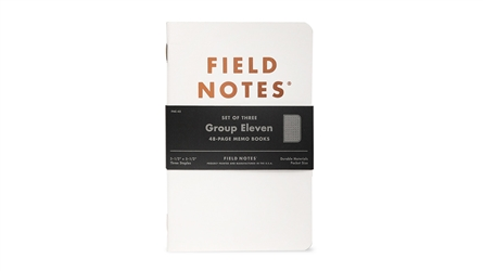 Field Notes 3-Pack - Group Eleven