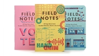 Field Notes 3-Pack - United States of Letterpress - Pack C