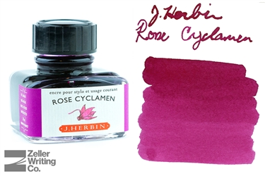 J.Herbin Rose Cyclamen (30ml)