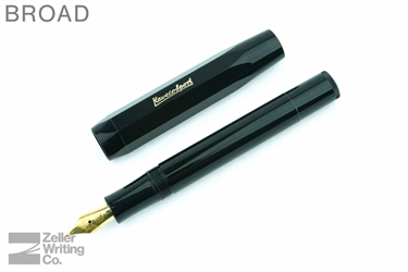 Kaweco Classic Sport Fountain Pen - Black - Broad