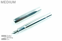Kaweco AL Sport Fountain Pen - Raw Polished Aluminum - Medium