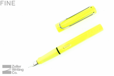 Lamy Safari Fountain Pen - Neon Yellow - Fine