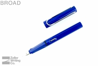 Lamy Safari Fountain Pen - Blue - Broad
