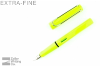 Lamy Safari Fountain Pen - Neon Lime - Extra-Fine