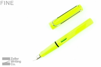 Lamy Safari Fountain Pen - Neon Lime - Fine