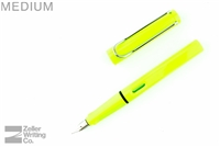 Lamy Safari Fountain Pen - Neon Lime - Medium