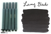 Lamy Ink Cartridges 5-Pack - Black