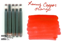 Lamy Ink Cartridges 5-Pack - Copper Orange