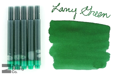 Lamy Ink Cartridges 5-Pack - Green
