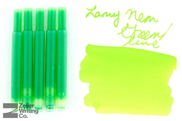 Lamy Ink Cartridges 5-Pack - Neon Lime