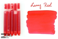 Lamy Ink Cartridges 5-Pack - Red