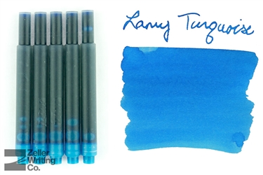 Lamy Ink Cartridges 5-Pack - Turquoise
