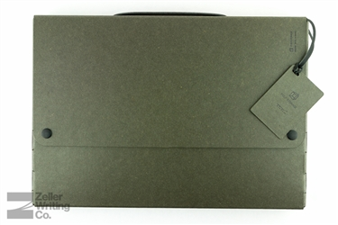 Midori Pulp Storage A4 Document Case - Black
