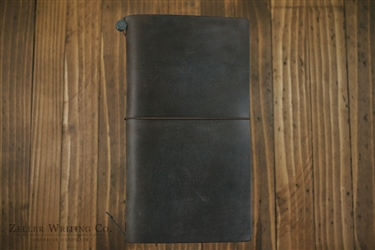 Midori Traveler's Notebook - Regular Size - Brown