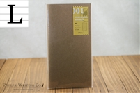 Midori Traveler's Notebook - Regular Size - Refill 001 - Lined