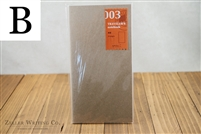 Midori Traveler's Notebook - Regular Size - Refill 003 - Blank
