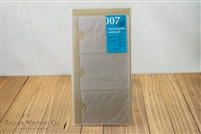 Midori Traveler's Notebook - Regular Size - Refill 007 - Card File