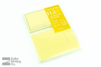 Midori Traveler's Notebook - Passport Size - Refill 012 - Sticky Notes