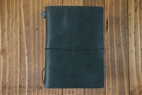 Midori Traveler's Notebook - Passport Size - Black