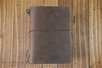 Midori Traveler's Notebook - Passport Size - Brown
