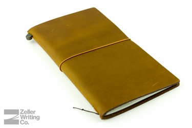 Midori Traveler's Notebook - Regular Size - Camel