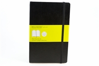 Moleskine Softcover Notebook Plain - 5in x 8.5in