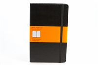 Moleskine Hardcover Notebook Ruled - 5in x 8.5in