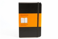 Moleskine Hardcover Notebook Ruled - 3.5in x 5.5in