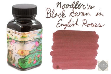 Noodler's Black Swan in English Roses (3oz)