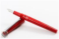 Noodler's Nib Creeper Flex Nib Fountain Pen - Red